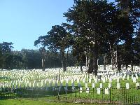 Cemetery in San Francisco